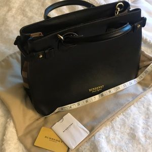 Burberry medium banner bag